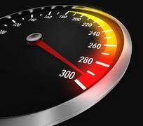 Stock Illustration of speedometer