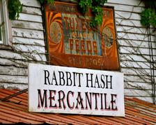 Rabbit hash mercantile Stock Photos