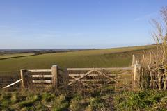 Wolds gates Stock Photos
