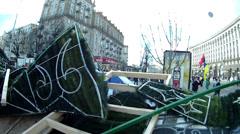 Revolution on the Maidan Stock Footage