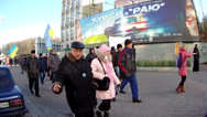 Stock Video Footage of Revolution on the Maidan