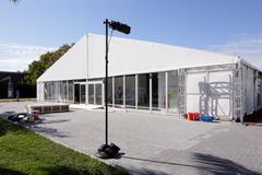 Art Basel Gallery Miami Stock Photos