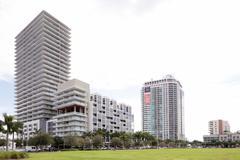 Midtown Miami Stock Photos