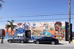 Miami Design District Stock Photos