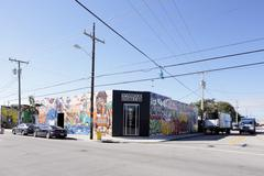 Art Walls at the Wynwood Design District - stock photo