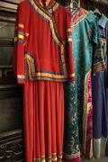 Richly Colored Traditional Chinese Clothing - stock photo