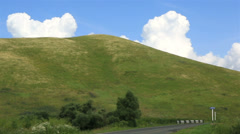 Travel along the scenic altai krai. russia. Stock Footage