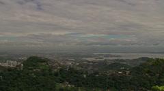 Rio de Janeiro on a Dreary Day Stock Footage