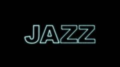 Jazz LEDS 02 Stock Footage