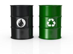 green energy - stock illustration