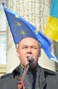 Ukraine for European Integration - stock photo