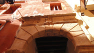 Stock Video Footage of An ancient Roman arch in the old town