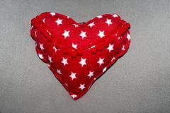 hand made hart shape - stock photo