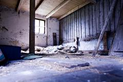 Squalid building Stock Photos