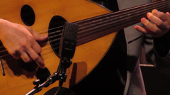 Arabic Musician Stock Footage