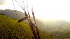 Parapente 02 Stock Footage