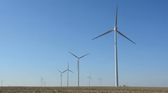 Wind Turbines 2 - stock footage
