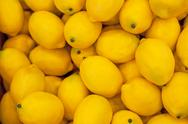 Stock Photo of yellow lemon