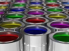 Metal cans Stock Illustration