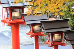 Beautiful fall season for adv or others purpose use - stock photo