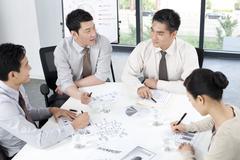 Business Team Aivoriihi Kuvituskuvat