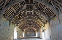 Tithe barn, Bradford on Avon, United Kingdom Stock Photos