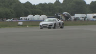 Stock Video Footage of Audi R8 pan