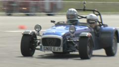 Caterham 7 - Blue Stock Footage