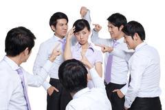 Over-Criticizing Colleague Stock Photos