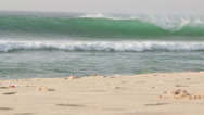 Stock Video Footage of Waves. Senegal beach.