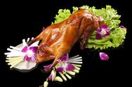Stock Photo of Close-up of Peking roasted duck