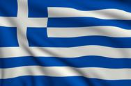 Stock Illustration of flag of greece