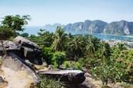 Stock Photo of view of the andaman sea , phuket  south of thailand.