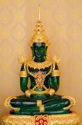 Emerald buddha statue Stock Photos