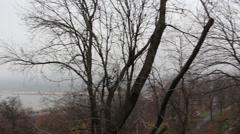European landscape, Kiev Stock Footage