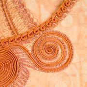 Detail of a feminine fashionable clothing, Senegal, Africa Stock Photos