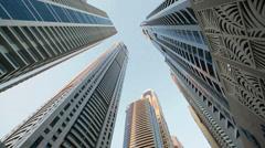 modern buildings - stock footage