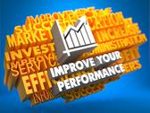 Stock Illustration of Improve Your Performance Concept.