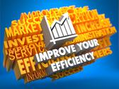 Stock Illustration of Improve Your Efficiency Concept.