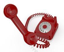 Stock Illustration of vintage telephone