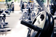 gym room - stock photo