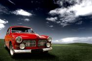 Stock Photo of beautiful classic car