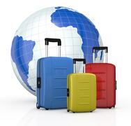 Stock Illustration of concept of travel