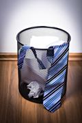 wastebasket - stock photo