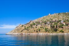 Stock Photo of turkish fortress in alanya
