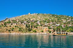 turkish settlement - stock photo
