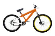 Stock Photo of orange bike