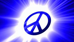 Symbol of peace Stock Footage