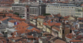 Ultra HD 4K Aerial View Nice Skyline Palais Rusca Justice Palace Church Roofs 4k or 4k+ Resolution
