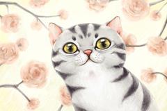 Stock Illustration of Lovely cat